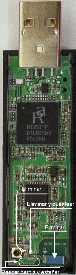 Modificar antena WIFI USB para aumentar alcance !